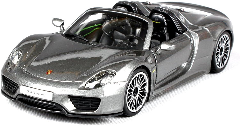 Penao Porsche 918spyder simulation Alloy car model, metal ornaments, car ornaments, car models, ratio 1 24