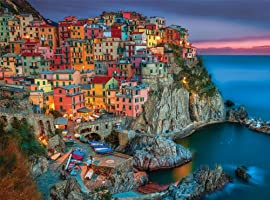 Buffalo Games 1418 Signature Series Cinque Terre, 1000-Piece Jigsaw Puzzle