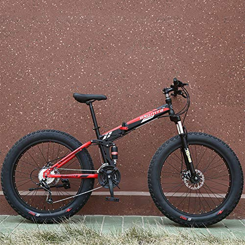 26 Inch 7/21/24/27 Speed Mountain Bike, 9S Fast Fold, Variabele Snelheid Disc Brake Schokabsorptie, Verbrede Grote Tire Gift Fiets Voor Vrouwen