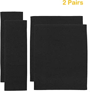 Counting Mars 2 Set Replacement Cover Canvas for Directors Chair, Black