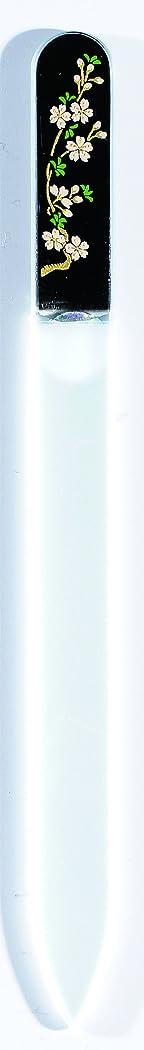 に渡ってレギュラー投獄橋本漆芸 ブラジェク製高級爪ヤスリ 三月 桜 OPP