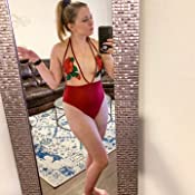 Women Sexys One-Piece Bikini Rose Embroidery Patchwork Mesh Swimwear Beachwear