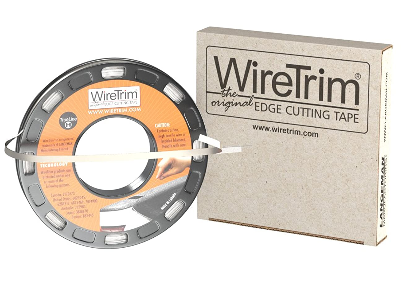 WireTrim, TrueLine (Heavy Duty), Edge Cutting Tape, 1/4-Inch X 100 Feet, 1 Roll, 883662001208