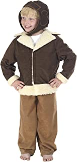 Pilot/Bomber Costume for Kids 7-11 Years
