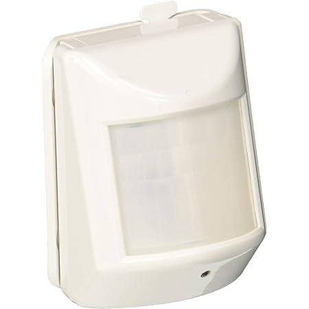 Monoprice Z-Wave Plus Pir Motion Detector with Temperature Sensor, No Logo | Easy to Install, Passive Infrared Sensor White
