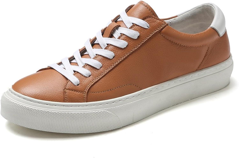 Springaa ny ny ny Lace Solid Färg Korea Mode skor Flat Casual Jokern herrar skor XIAQI  njuter av din shopping
