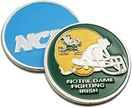 Art Crafter NASS NCAA College University Football Notre Dame Fighting Irish Challenge Coin Badge NS10 2#, No Licensed Sports Commemorative Coins