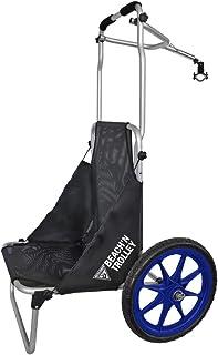 Seattle Sports 可折叠自行车拖车可兼作沙滩椅 沙滩自行车 Full Trolley
