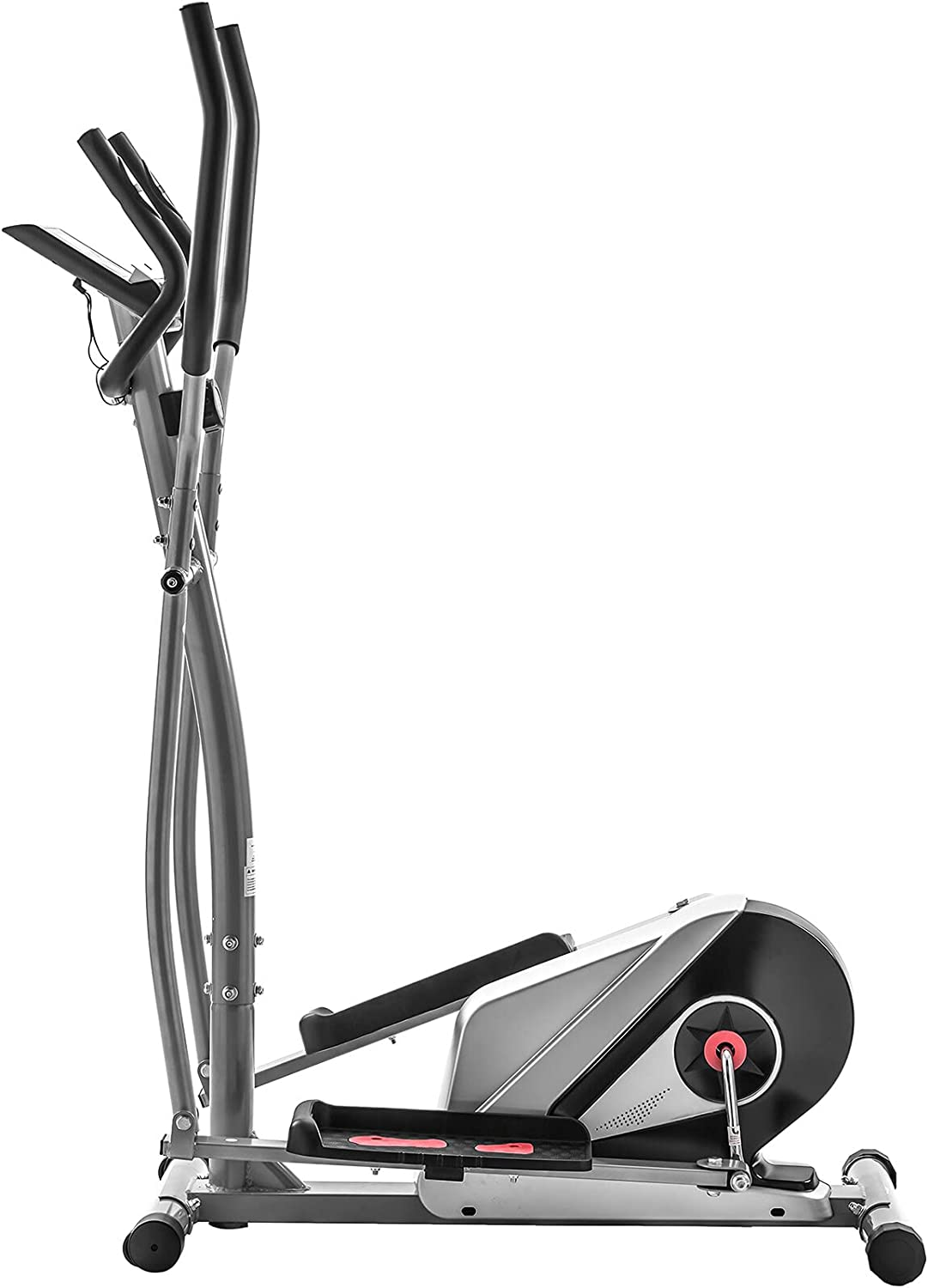 Elliptical Machine Trainer Magnetic Smooth Quiet Driven with LCD