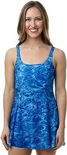 Womens Swimwear: One Piece Modest Swim Dress UPF 50+ Swimsuits