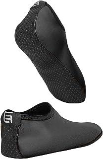 Eco-Fused, Calcetines / Zapatos de agua para mujeres – Extra Cómodos – Protege contra la arena, agua fría/caliente, UV, rocas/guijarros – Calzado fácil para nadar, voleibol de playa, snorkel, vela, surf, yoga
