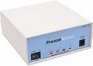 Control Products Deluxe FreezeAlarm Custom Dual Temperature Power Alarm FA-D2 with Remote Switch and Aux. Input with voice message to 3 numbers / Quick Status Check