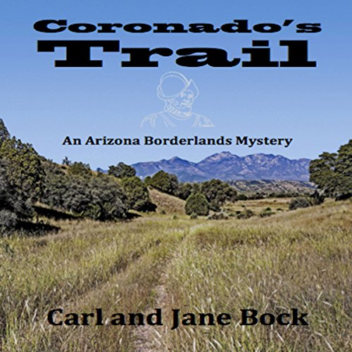 Coronado's Trail audiobook cover art