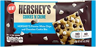 Hershey's Cookies and Creme White Chips and Chocolate Cookie Bits