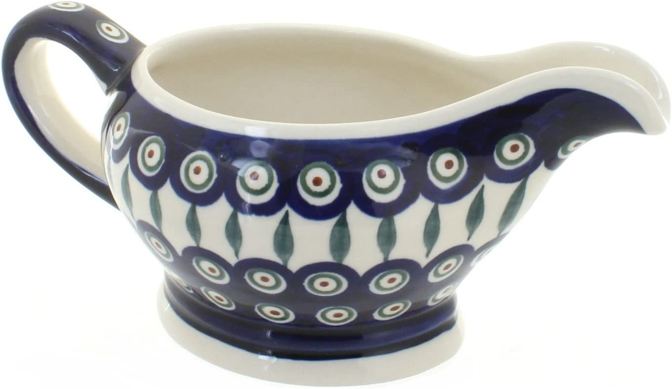 Manufacturer OFFicial shop Blue Rose Polish Pottery Bowl Peacock Max 73% OFF Gravy