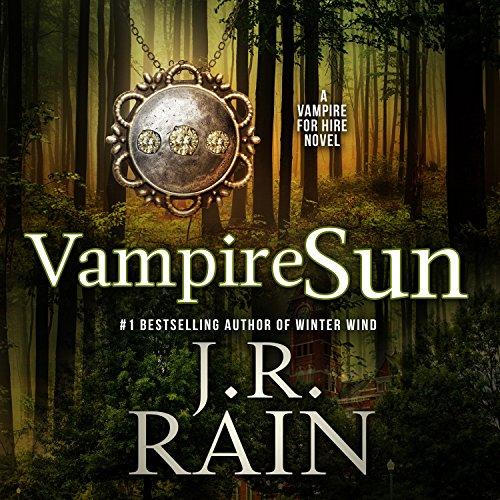 Vampire Sun audiobook cover art