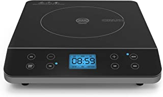 CRUX Countertop Induction Burner, Portable Electric Hot Plate, Smart Touch LCD Display, Hassle-Free Temperature Control an...