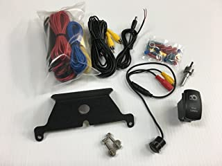 UTV Stereo Rear View Camera Kit w/ Mount & Switch For Can-Am Maverick X3
