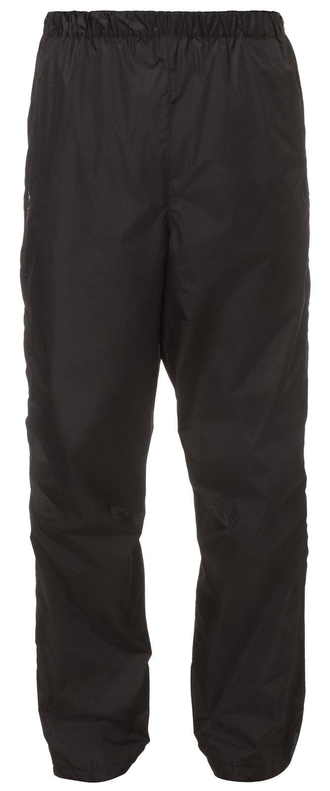 VAUDE Herren Hose Fluid Full-zip Pants II S/S, Schwarz , Gr. 50/M ,6343