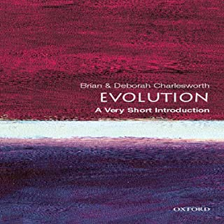 Evolution: A Very Short Introduction audiobook cover art