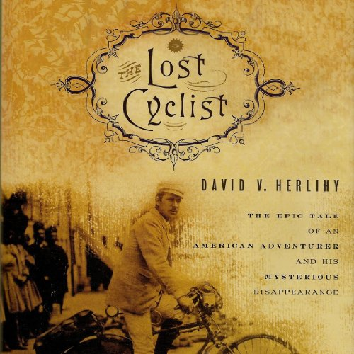 The Lost Cyclist audiobook cover art
