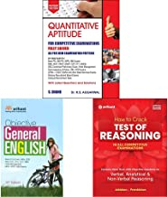 Quantitative Aptitude for Competitive Examinations by R.S. Aggarwal (2019-20 Session)+Objective General English+How to Cra...