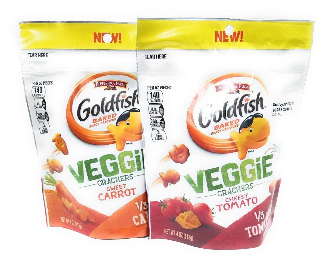 Veggie Snack Cheap bargain Crackers Goldfish Inexpensive items 2 Bundle