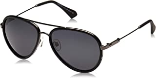 نظارة بتصميم افياتور من تي اف ال للجنسين - عدسات سوداء DKD2102-91-362-C2