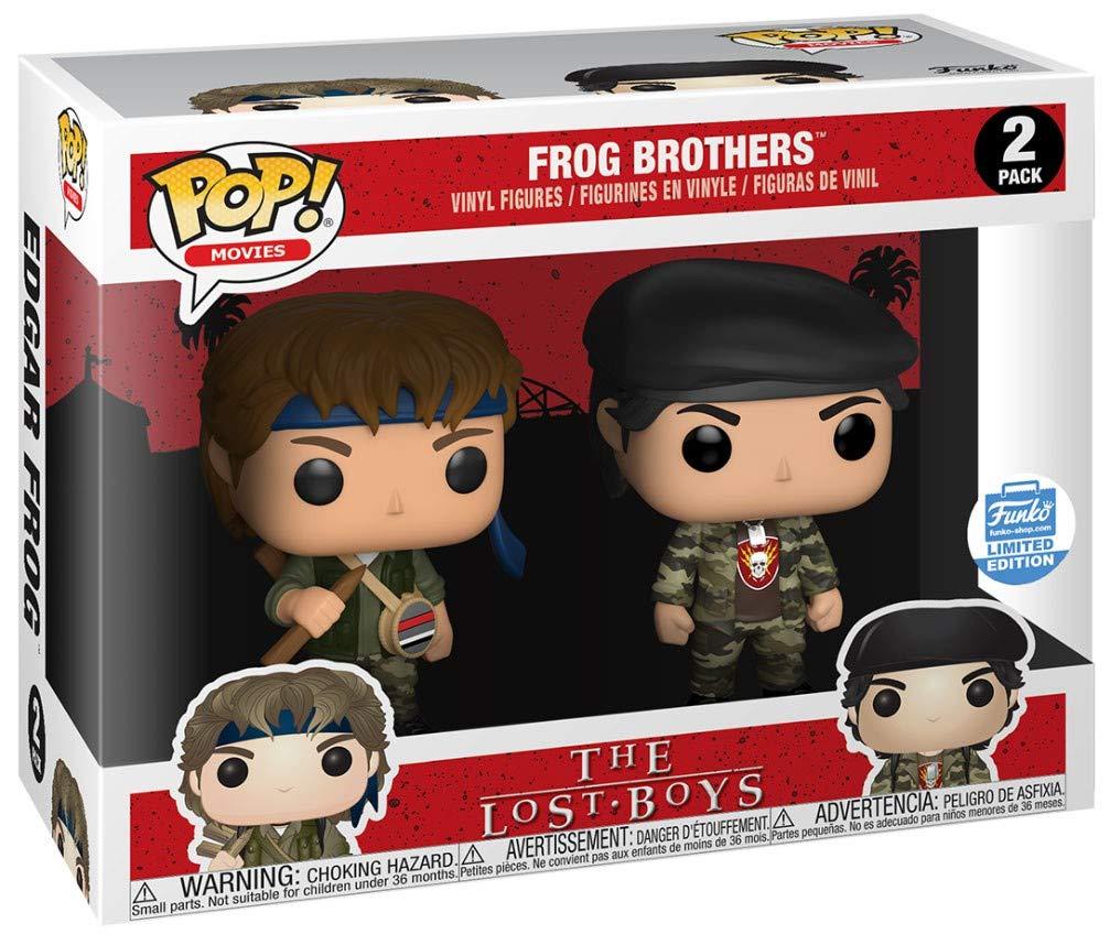 Funko Pop PELÍCULAS: LOS NIÑOS Perdidos - Frog Brothers 2-Pack: Amazon.es: Juguetes y juegos