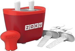 Zoku Plastic Duo Quick Pop Maker, Standard, Red