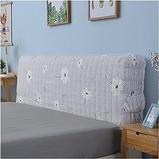 HDGZ Protectora De Cabeceros De Cama Todo Incluido Fundas para Cabecero De Cama Elásticas Cubierta A Prueba De Polvo Lavable para La Decoración del Dormitorio (Color : Grey, Size : 2.2m)