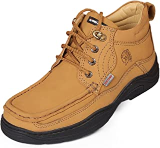 Red Chief Men's Rust Leather Casual Shoes (RC1211) UK 8