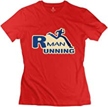 Fashion Running Man Women's T-shirt RoyalBlue