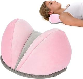 TMISHION Almohada de Viaje, Cuello Cervical Suave Almohada para el Cuello Resto para la Siesta Almohada para Cuello Cervical Suave Soporte para el Cuello Cojín del Cuidado Cervical