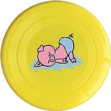Cute Sleeping Pig Game Plastic Sport Flying Frisbee