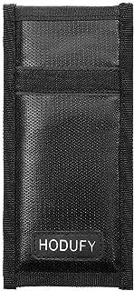 Faraday Bag for Key Fob, RFID Key Fob Protector Car Signal Blocking, Fireproof Faraday Pouch, Anti-Theft Pouch (Black)