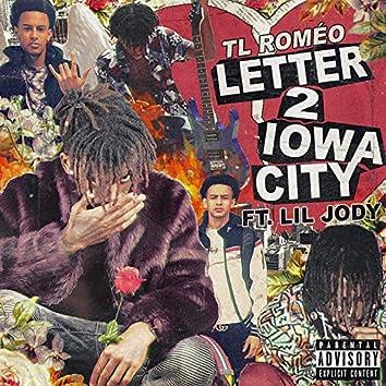 Letter 2 Iowa City
