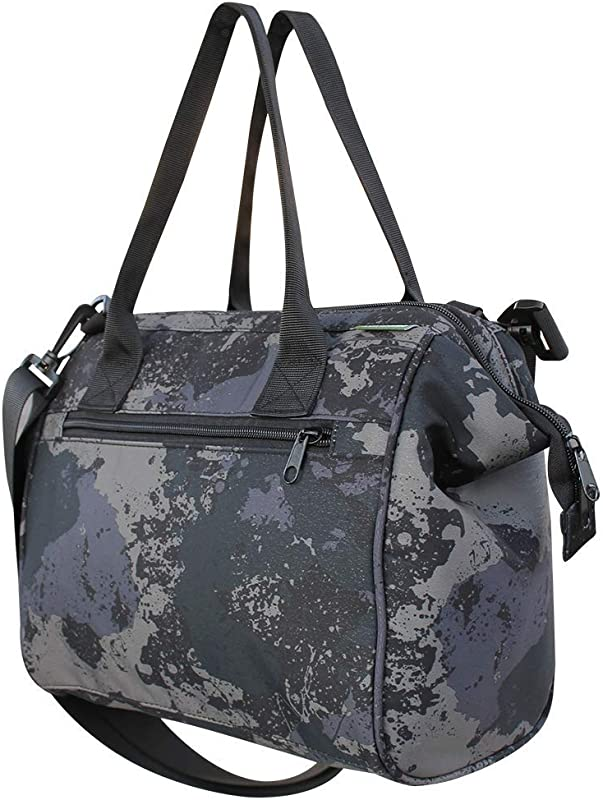 Earthwise Insulated Lunch Bag Box For Men And Women With Removable Leakproof Lining Camo Print Converts To A Tote Handbag Easy To Clean For Adults And Kids
