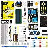 KEYESTUDIO Starter Kit for Arduino R3, Mega 2560, Nano, Raspberry Pi 4 Electronic