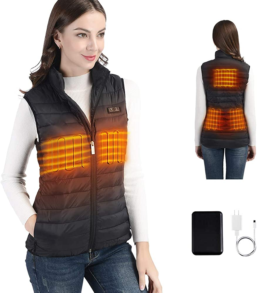 2020 New Heated Vest for Women service with USB Pack depot Lightweigh Battery