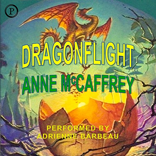 Dragonflight     Pern, Book 1              By:                                                                                                                                 Anne McCaffrey                               Narrated by:                                                                                                                                 Adrienne Barbeau                      Length: 2 hrs and 46 mins     23 ratings     Overall 3.7