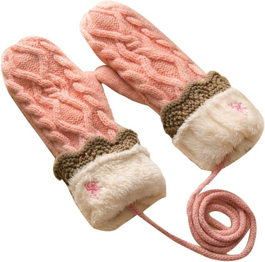 Panda Legends Knitted Glove Warm Winter Mittens Ski Gloves Thick Gloves Halter Gloves
