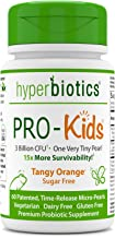 Hyperbiotics PRO-Kids - 60 Tiny Sugar Free Once Daily Time-Release Pearls for Kids Ages 3 and Up - Easy to Swallow and 15x...