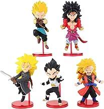 5pcs / Set Wcf Dragon Ball Super Dragonball Heroes Vol.2 Son Goku Vegeta Broly Super Saiyan PVC Figuras de acción Juguetes para niños