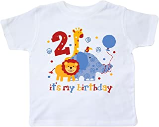 Safari 2nd Birthday Toddler T-Shirt 10fd2