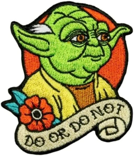 Disney Max 40% OFF Star Beauty products Wars Master Yoda Do Patch Officially Not Or Licen