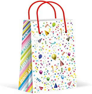 Premium Kids Party Bags, Gift Bag, Kids Party Favor Bags, New, Treat Bags, Goody Bags, Candy Bag, Kids Party Favors, Kids Party Supplies, Decorations, 12 Pack