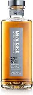 BEVERBACH Single Malt German Whiskey, Deutscher Single Malt Whisky 43% vol., 3-4 Jahre im Eichenfass gelagert 0.7 l