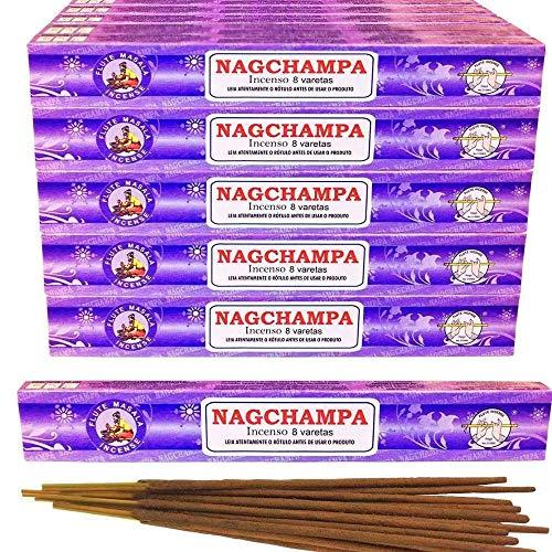 Incenso Indiano Flute Nag Champa Massala 25 Caixas com 8 Varetas Original