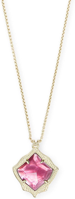 Kendra Scott Kacey Adjustable Length Pendant Necklace for Women